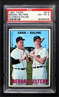 Bengal Belters (Norm Cash, Al Kaline) [PSA8NM‑MT]
