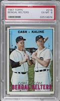 Norm Cash, Al Kaline [PSA6]