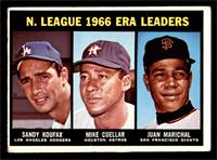 Sandy Koufax, Mike Cuellar, Juan Marichal [GOOD]