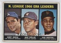 Sandy Koufax, Mike Cuellar, Juan Marichal [Poor to Fair]