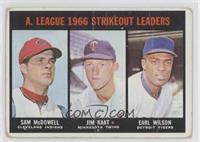 Sam McDowell, Jim Kaat, Earl Wilson [Poor]