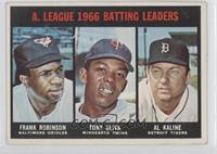Frank Robinson, Tony Oliva, Al Kaline [Noted]