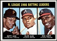 N. League Batting Leaders (Matty Alou, Felipe Alou, Rico Carty) [NMMT]