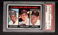 A. League RBI Leaders (Frank Robinson, Harmon Killebrew, Boog Powell) [PSA&nbsp…