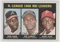 Dick Allen, Hank Aaron, Roberto Clemente