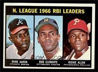 N. League RBI Leaders (Hank Aaron, Roberto Clemente, Richie Allen) [EXMT]