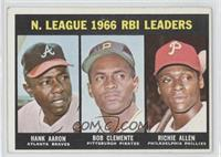 N. League RBI Leaders (Hank Aaron, Roberto Clemente, Richie Allen)