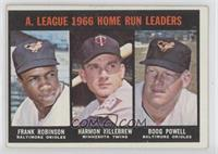 Frank Robinson, Harmon Killebrew, Boog Powell [Good to VG‑EX]