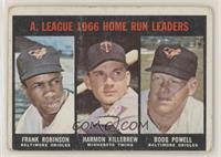 Frank Robinson, Harmon Killebrew, Boog Powell [PoortoFair]