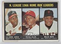 Hank Aaron, Dick Allen, Willie Mays [PoortoFair]