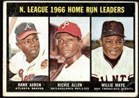 N. League Home Run Leaders (Hank Aaron, Dick Allen, Willie Mays) [FAIR]