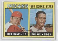 1967 Rookie Stars - Bill Davis, Gus Gil
