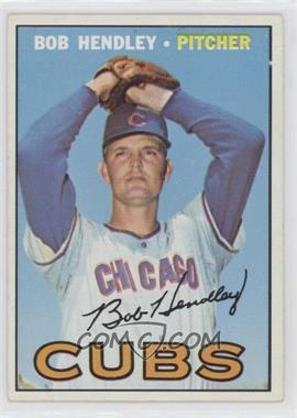 1967 Topps - [Base] #256 - Bob Hendley