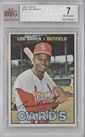Lou Brock [BVG 7 NEAR MINT]