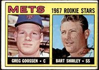 1967 Rookie Stars - Greg Goossen, Bart Shirley [GOOD]