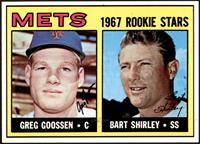 1967 Rookie Stars - Greg Goossen, Bart Shirley [NM]