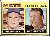 1967 Rookie Stars - Greg Goossen, Bart Shirley [VG+]