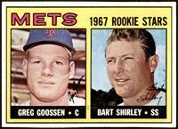 1967 Rookie Stars - Greg Goossen, Bart Shirley [EXMT+]
