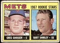 1967 Rookie Stars - Greg Goossen, Bart Shirley [FAIR]