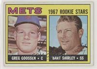 1967 Rookie Stars - Greg Goossen, Bart Shirley [GoodtoVG‑EX]