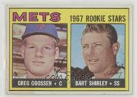 1967 Rookie Stars - Greg Goossen, Bart Shirley [PoortoFair]