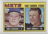 1967 Rookie Stars - Greg Goossen, Bart Shirley