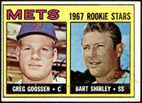 1967 Rookie Stars - Greg Goossen, Bart Shirley [EX]