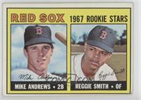 1967 Rookie Stars - Mike Andrews, Reggie Smith [Poor]