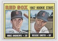 1967 Rookie Stars - Mike Andrews, Reggie Smith [NonePoortoFai…
