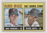 1967 Rookie Stars - Mike Andrews, Reggie Smith [NoneGoodtoVG&…