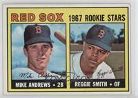 1967 Rookie Stars - Mike Andrews, Reggie Smith