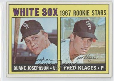 1967 Topps - [Base] #373 - Duane Josephson, Fred Klages