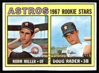 Astros Rookie Stars (Norm Miller, Doug Rader) [VG]
