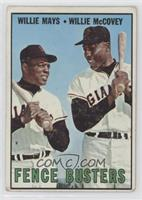 Willie Mays, Willie McCovey [GoodtoVG‑EX]