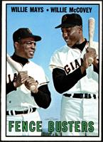 Willie Mays, Willie McCovey [NM MT]