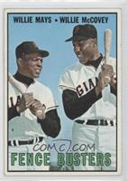 Willie Mays, Willie McCovey [Good to VG‑EX]