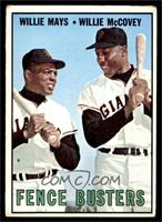 Willie Mays, Willie McCovey [VG]