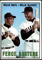 Willie Mays, Willie McCovey [VG EX]