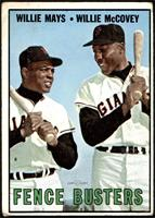Willie Mays, Willie McCovey [GOOD]