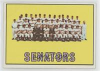 Washington Senators Team