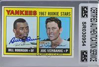1967 Rookie Stars - Bill Robinson, Joe Verbanic [CASCertifiedSealed]