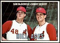 Hill Aces (Sam McDowell, Sonny Siebert) [NM]