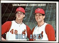 Sam McDowell, Sonny Siebert [GOOD]