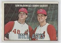 Sam McDowell, Sonny Siebert [Poor to Fair]