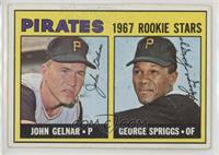 1967 Rookie Stars - John Gelnar, George Spriggs [NoneGoodtoVG…