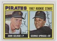 1967 Rookie Stars - John Gelnar, George Spriggs