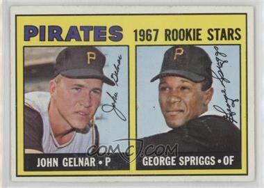 1967 Topps - [Base] #472 - Pirates Rookie Stars (John Gelnar, George Spriggs)