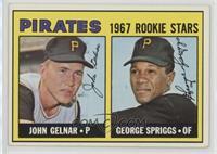 Pirates Rookie Stars (John Gelnar, George Spriggs)