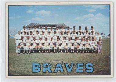 1967 Topps - [Base] #477 - Atlanta Braves Team [GoodtoVG‑EX]