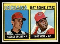 Indians Rookie Stars (George Culver, Jose Vidal) [NM]